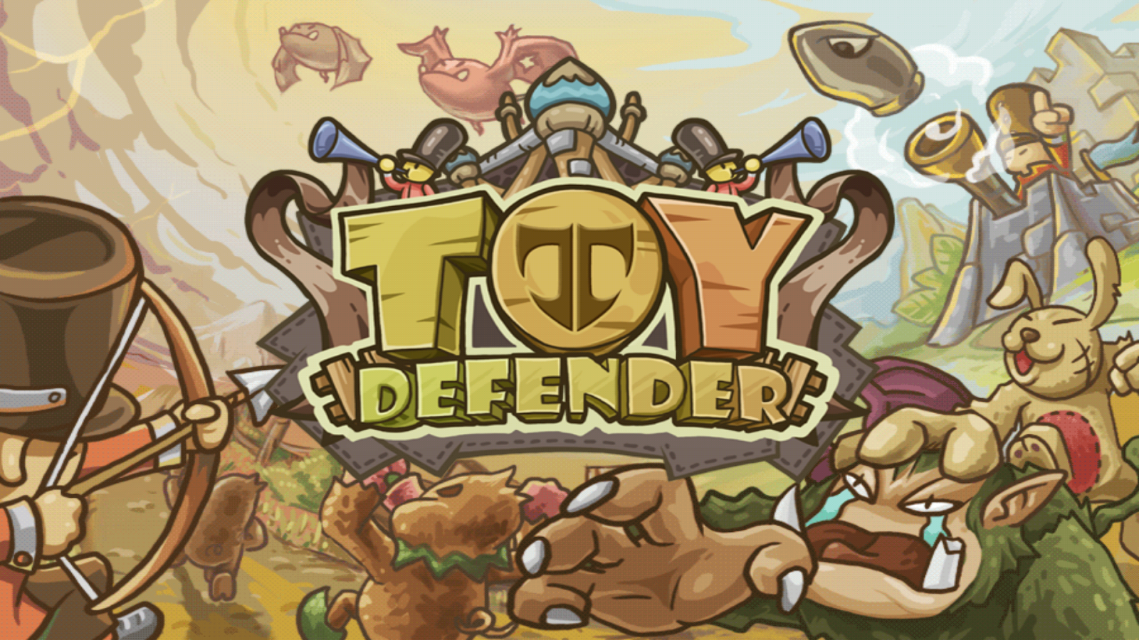 Toy Defender- screenshot