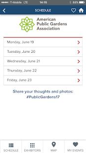 Public Gardens Association - náhled