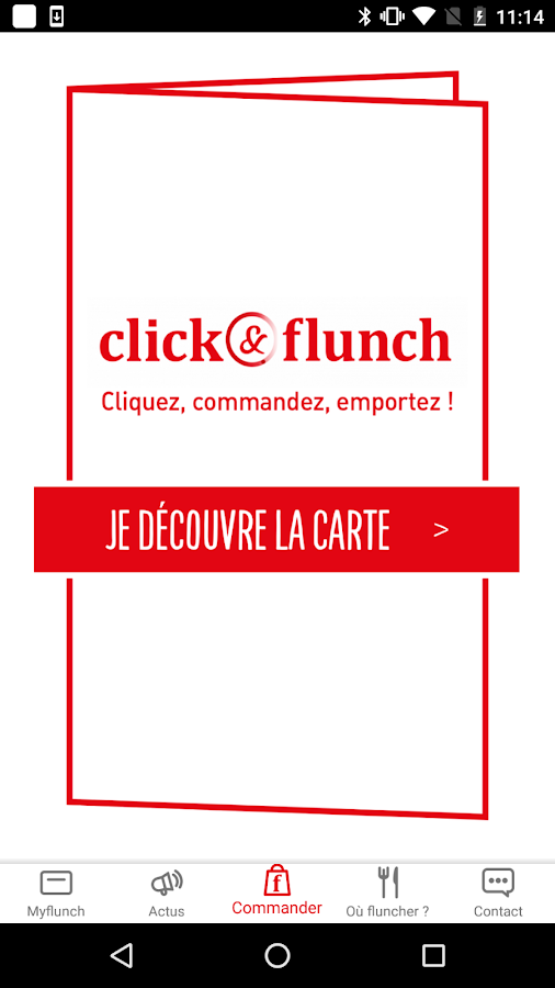 Flunch- screenshot