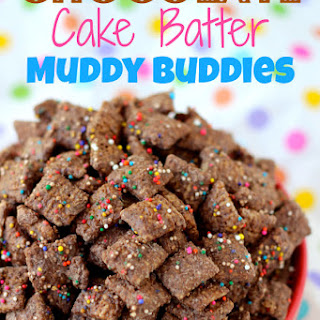 Chocolate Cake Batter Muddy Buddies