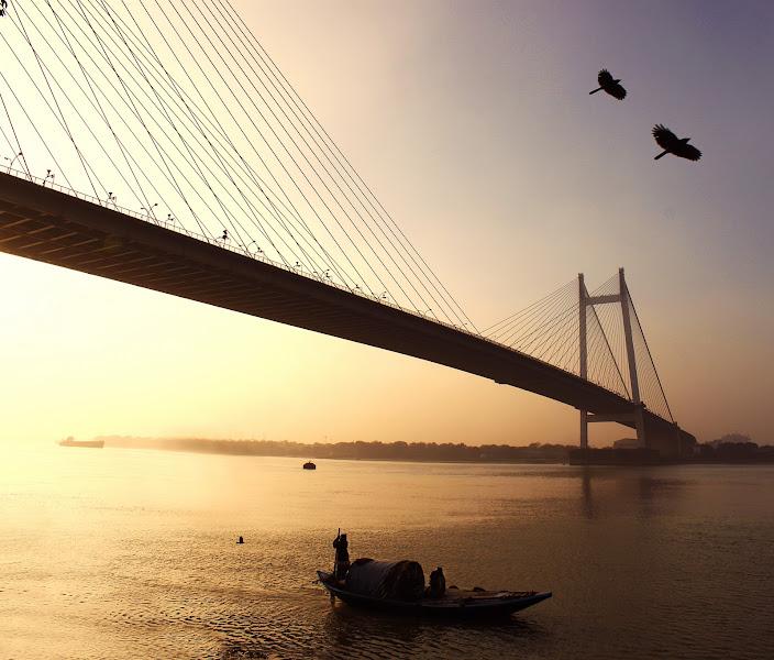 Photo: Sunset in Kolkata