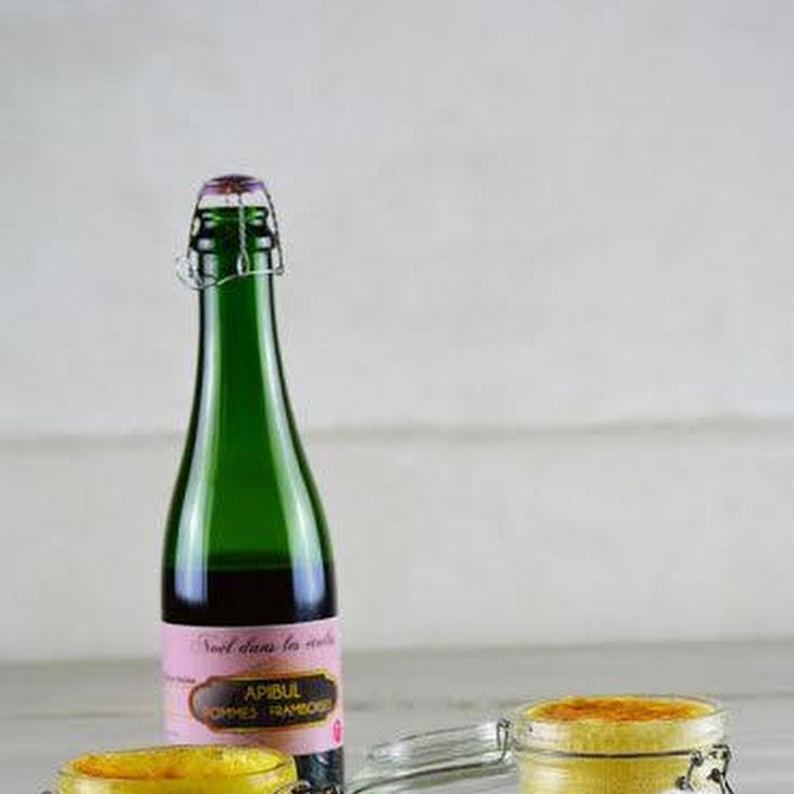 Sabayon with Creme de Cassis and Raspberries