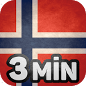 Learn Norwegian in 3 Minutes icon