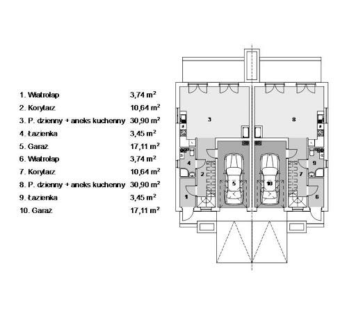 Eco 16 - Rzut parteru