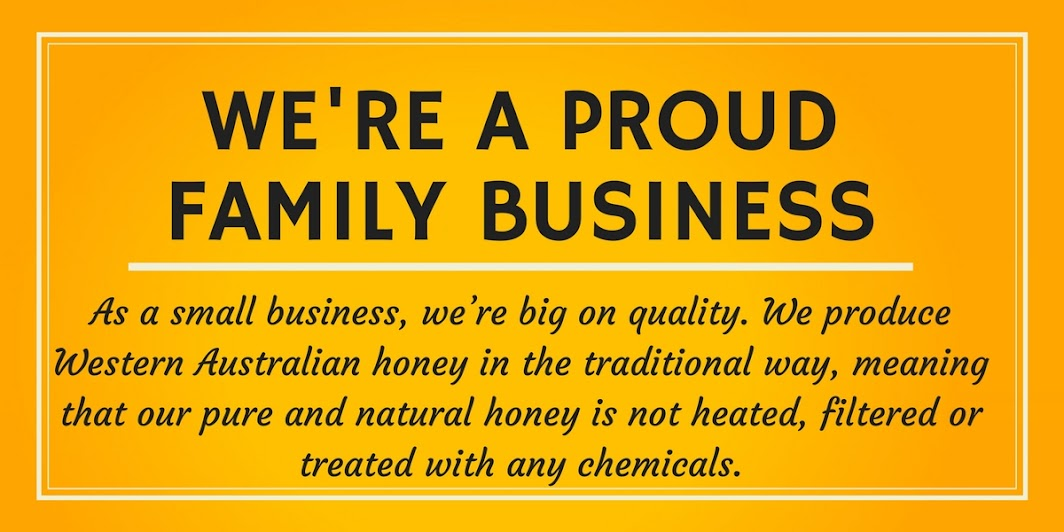 We're a proud family business