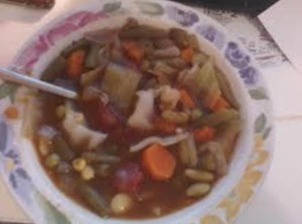 My Beef Veggie Soup! Recipe