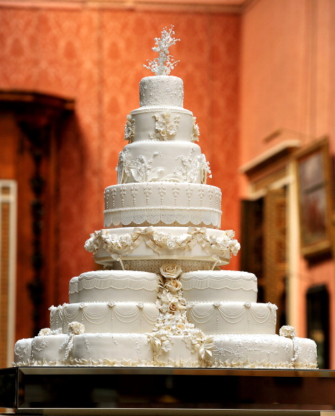 Prince William and Kate's wedding cake was created by the team at Fiona Cairns, makers of handcrafted luxury cakes.