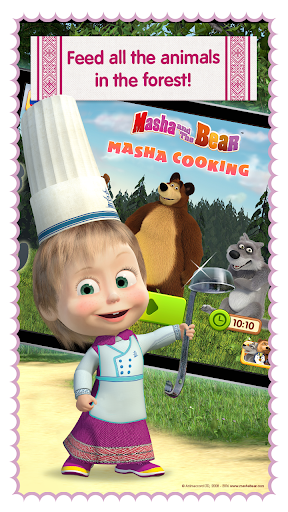 Masha and Bear: Cooking Dash  screenshots 4