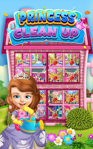 Princess Sofia Cleaning Home 1.0 screenshots 2