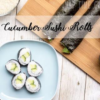 Cucumber Sushi Rolls.