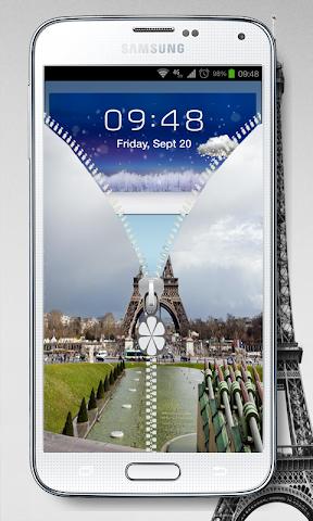 android NEW PRAY PARIS SCREEN LOCK Screenshot 5