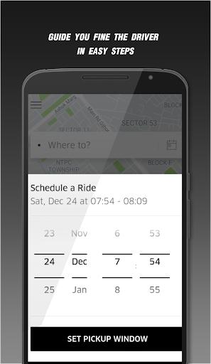 User Uber Call Guide