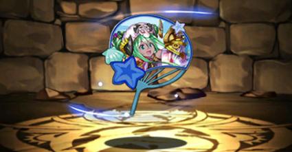 夏祭りの時女神・プレーナのうちわ