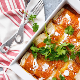 Chicken & Goat Cheese Enchiladas
