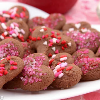 Chocolate Shortbread Cookies – Valentine'S Day Recipe