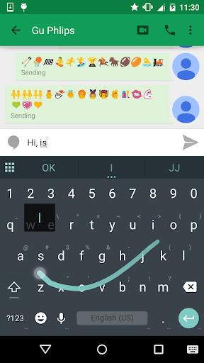 Lollipop Emoji Keyboard