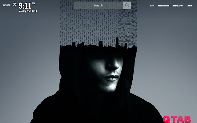 Mr Robot New Tab Wallpapers