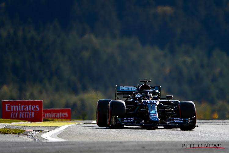 Hamilton evenaart uitgerekend op Nürburgring record van Schumacher, Verstappen nadert op Bottas in stand