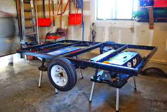 Photo: Northern Tools 8x5' Trailer (with wheel jack and spare tire)
