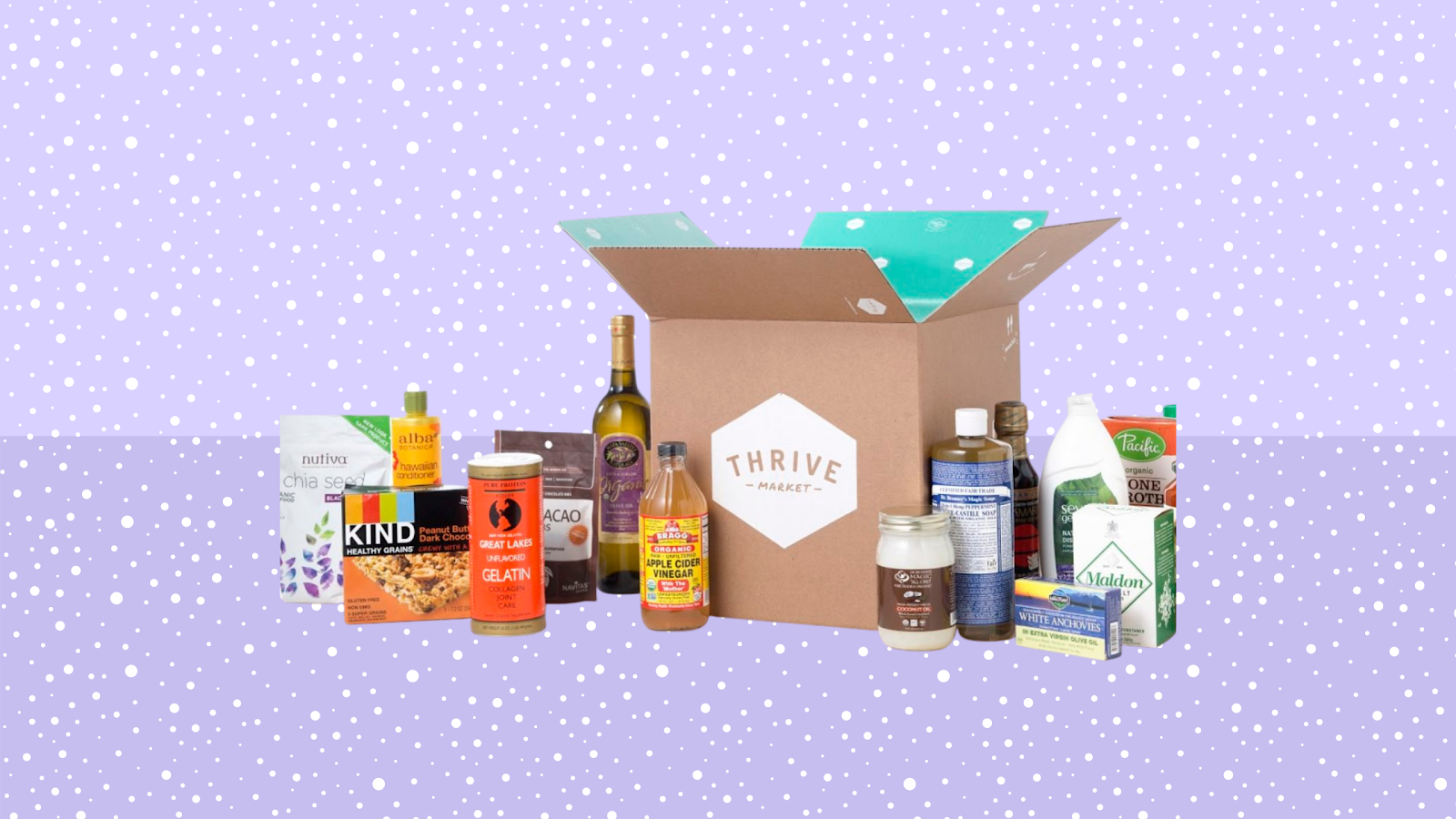 Shop wellness gifts from Thrive Market