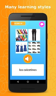 Learn Spanish Language Pro- screenshot thumbnail