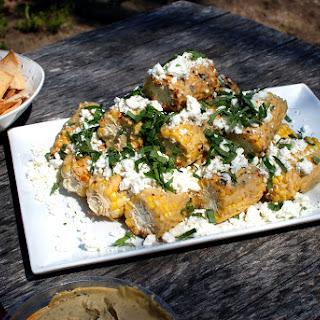 Hummus Basil Feta Corn