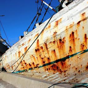 Corrosion by Rudy Kurniawan - Transportation Boats