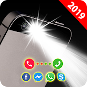 Flash on call and sms: Flashlight led torch light