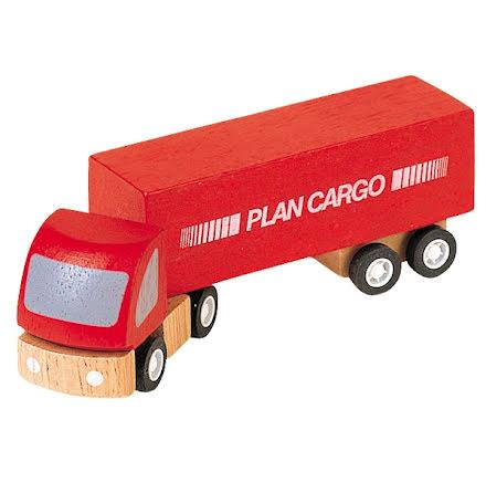 Plan Toys Röd Lastbil