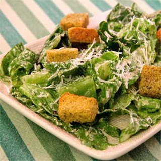 Easy Creamy Caesar Salad Dressing