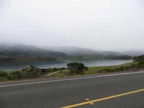 Photo: Crystal Springs Reservoir in the mist