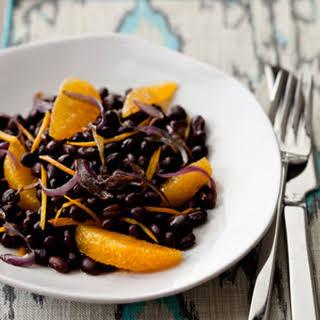 Warm Black Bean and Orange Salad.