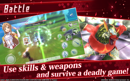 Sword Art Online: Integral Factor APK MOD screenshots 2