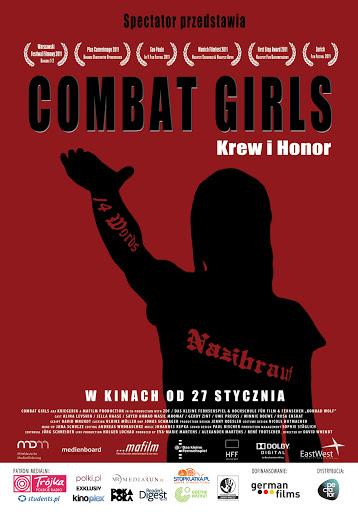 Polski plakat filmu 'Combat Girls. Krew i Honor'