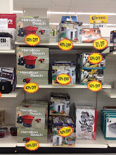 Photo: They had all sorts of items markdown -- this photo shows just some of the kitchen items they had.