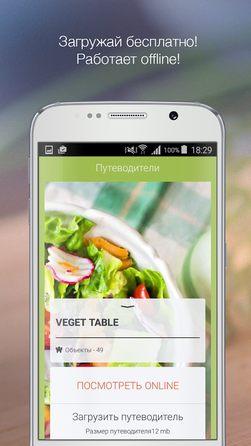 Veget Table – Москва- screenshot