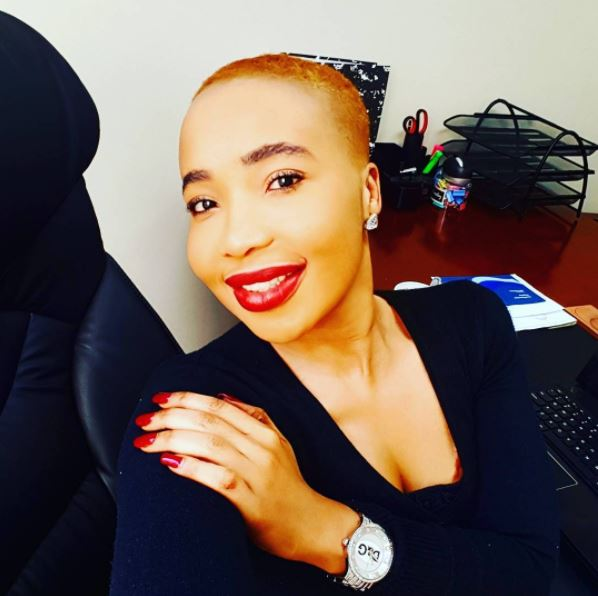 Mshoza is completely besotted with her man.