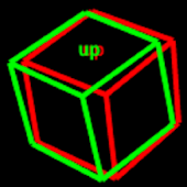 Anaglyph 3D cube