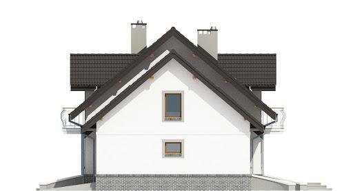 Dom Dla Ciebie 3 z garażem 2-st. A3 - Elewacja prawa