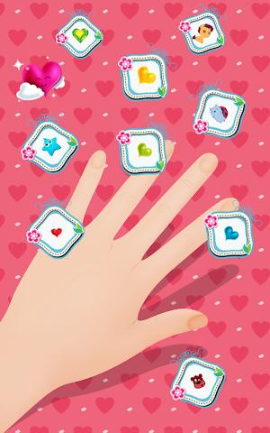 android Die Nachkommen Nägel Malen Screenshot 1