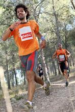 """Photo: Foto publicada en la web del periódico La Verdad. En la carrera de montaña """"El valle"""", 21km, 10/SEP/2011, puntuable para el campeonato regional. 28 de la Gral y 19 de mi categoría (de 280!, dabuti)"""