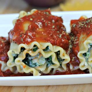 Spinach Artichoke Lasagna Rollups [Vegan]
