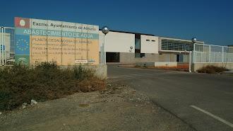 La desaladora  de Almería va a aumenta la extracción con tres nuevos bastidores.