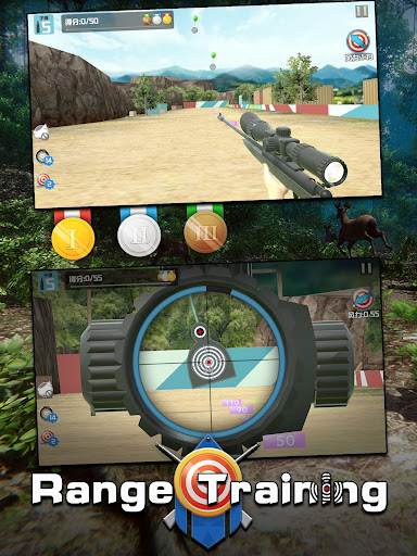 Télécharger Gratuit Hunting Action-sniper deer safari shooting games  APK MOD (Astuce) screenshots 6