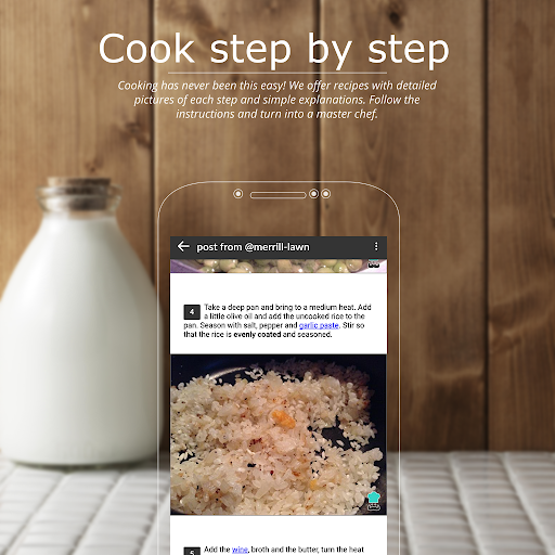 RecipesTroupe - Your Cooking Community Screenshot