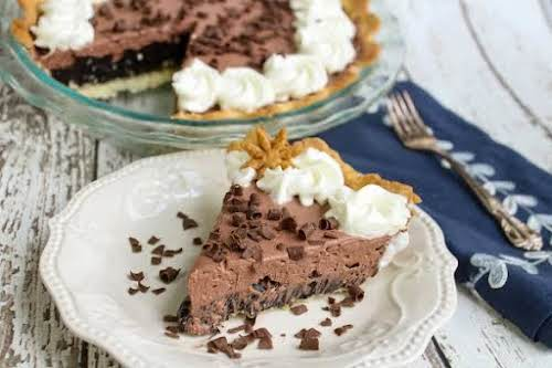 """Chocolate Dream Pie """"Absolutely incredible. It's a definite keeper. Rich and chocolatey...."""