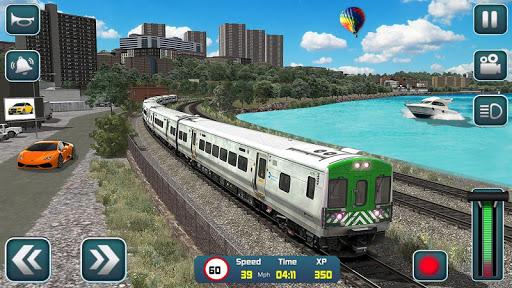 Euro Train Driver Sim 2020: 3D Train Station Games 1.4 screenshots 4