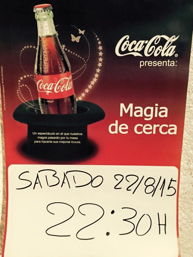 cartel magia de cerca coca cola 2015 alfonso v