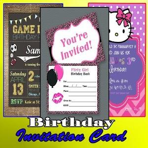 Birthday Invitation Card Design 1 0 Latest Apk Download For