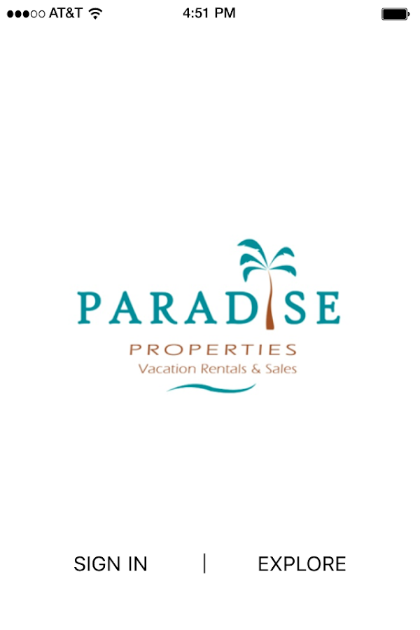 Paradise Properties- screenshot